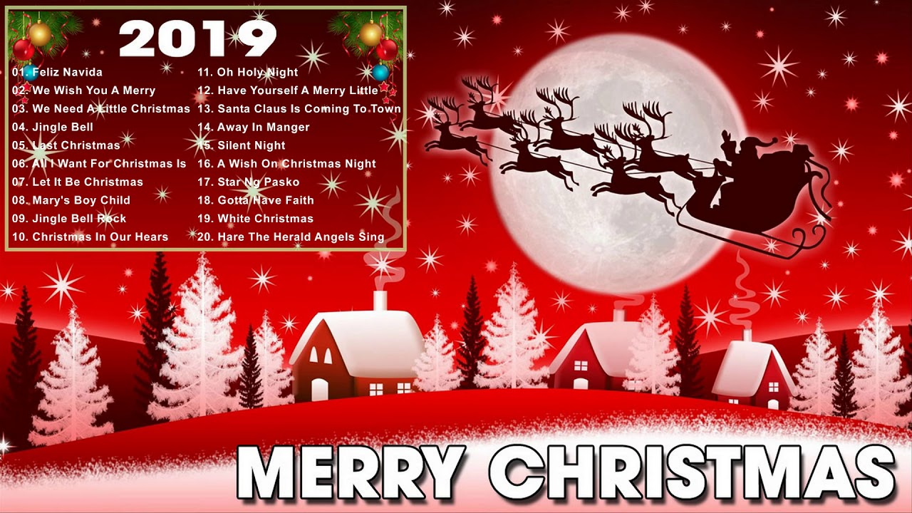Non Stop Christmas Music.Christmas Music 2018 Best Classic Christmas Songs Nonstop Christmas Songs Collection