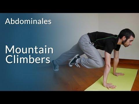 Mountain Climbers para quemar grasa