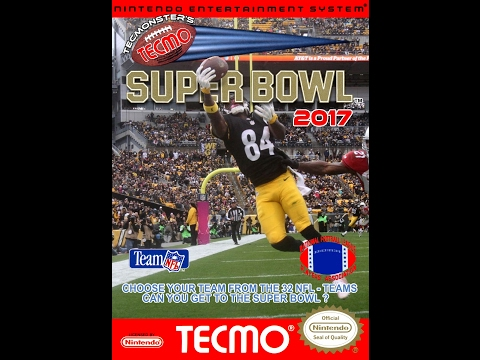 Tecmo Super Bowl 2017 - New England Patriots vs. Atlanta Falcons