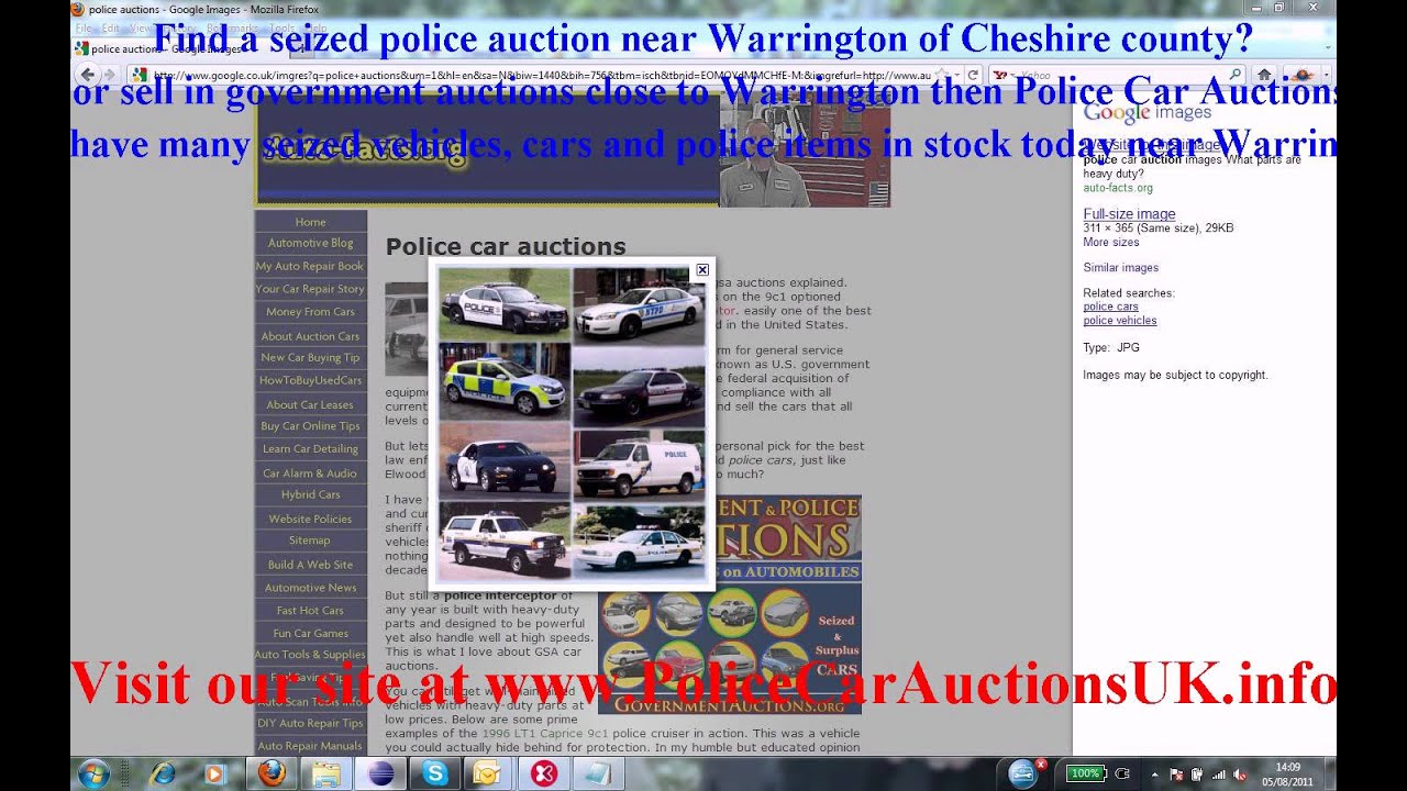 Police Car Auctions Uk Online Car Sale And Rentals