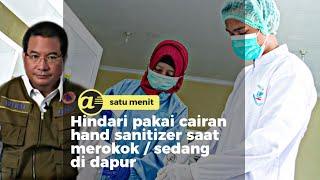 Cara buat hand sanitizer berstandar WHO