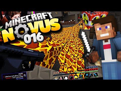 KRASSE ATOM PISTOLE GEFUNDEN   Minecraft NOVUS #016   Dner