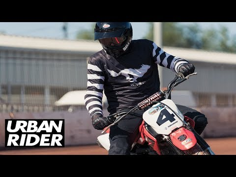 FLAT TRACK RIDING With URBAN RIDER // From Zero To Hero?