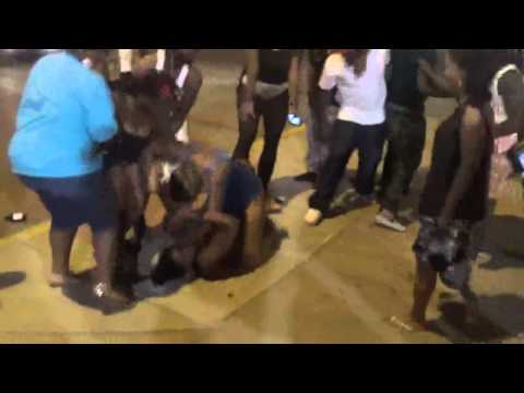 DRUNK THOT FIGHT AT CLUB FEVER FRIDAY JUNE 27 2014