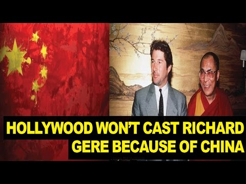 Richard Gere Says Hollywood WON'T Hire Him Because of China