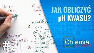 Matura z chemii: Jak obliczyć pH kwasu? | Zadanie Dnia #21