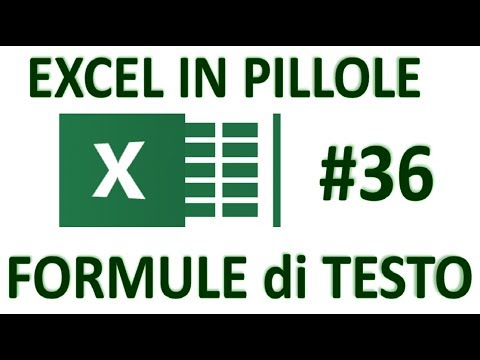 EP36 FORMULE con TESTO di excel INDIRIZZO  TESTO  RIF.RIGA  RIF.COLONNE