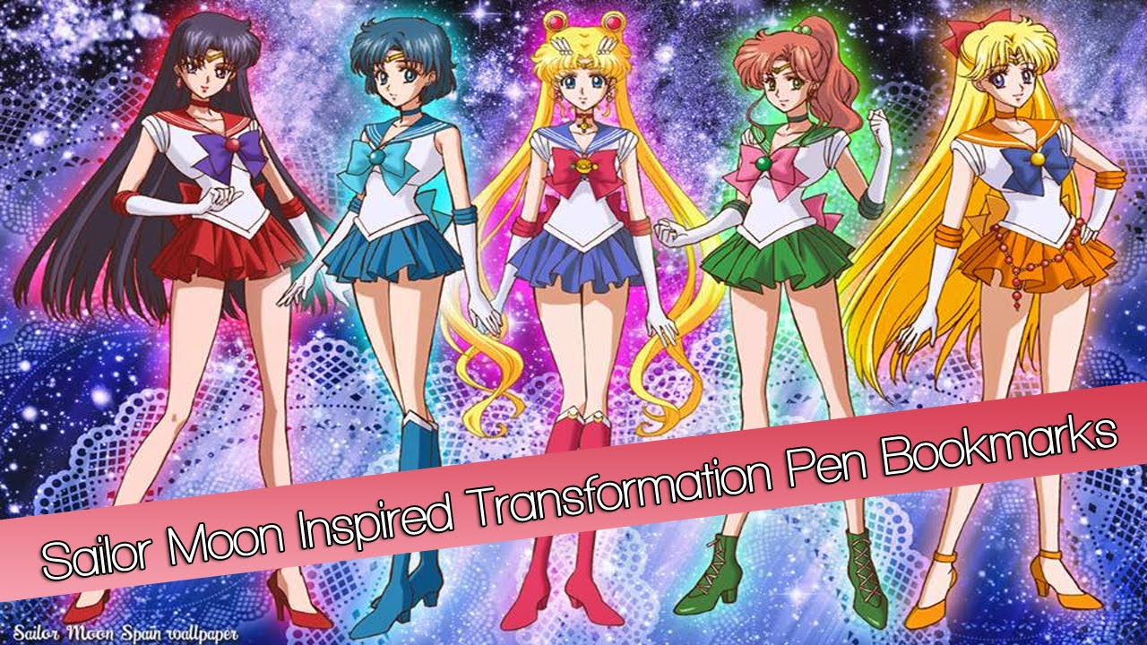 Anime Decorations Diy Sailor Moon Inspired Transformation