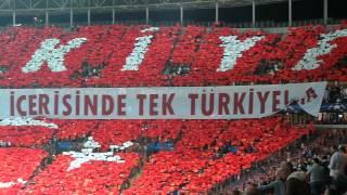 Galatasaray -Atletico Madrid Koreografi