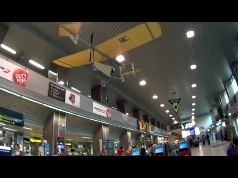 Bucharest airport 布加勒斯特機場 - Check_in day 21 - 24 ( Romania )