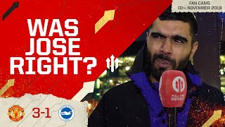 MAYBE MOURINHO WAS RIGHT? MAN UTD 3 BRIGHTON 1 | Match Review