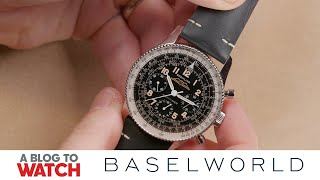 Breitling Navitimer 1959 Re-Edition Ref. 806 Watch Hands-On | New for Baselworld 2019 | aBlogtoWatch