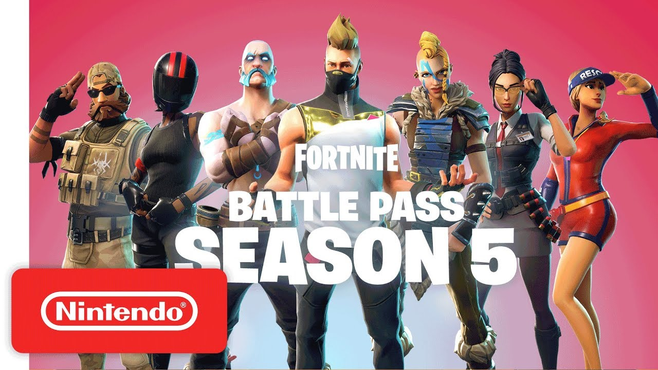 Fortnite Battle Pass Season 5 Trailer Nintendo Switch Youtube