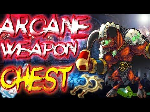 Arcane Legends||Farming Arcane Weapon Chest!!