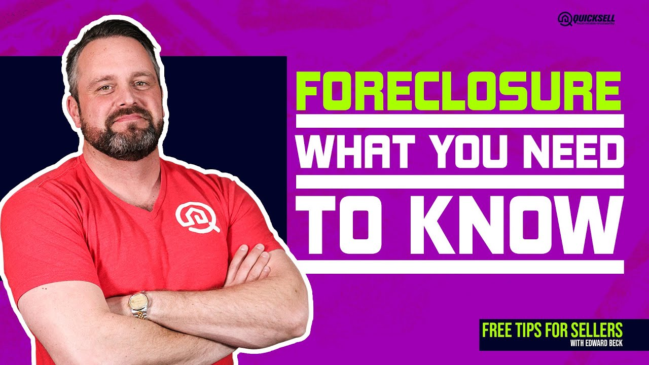 What Do I Need to know about Foreclosure in El Paso Texas