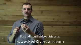 How to use the Pig Squealer hand call from Red River Calls calling hog