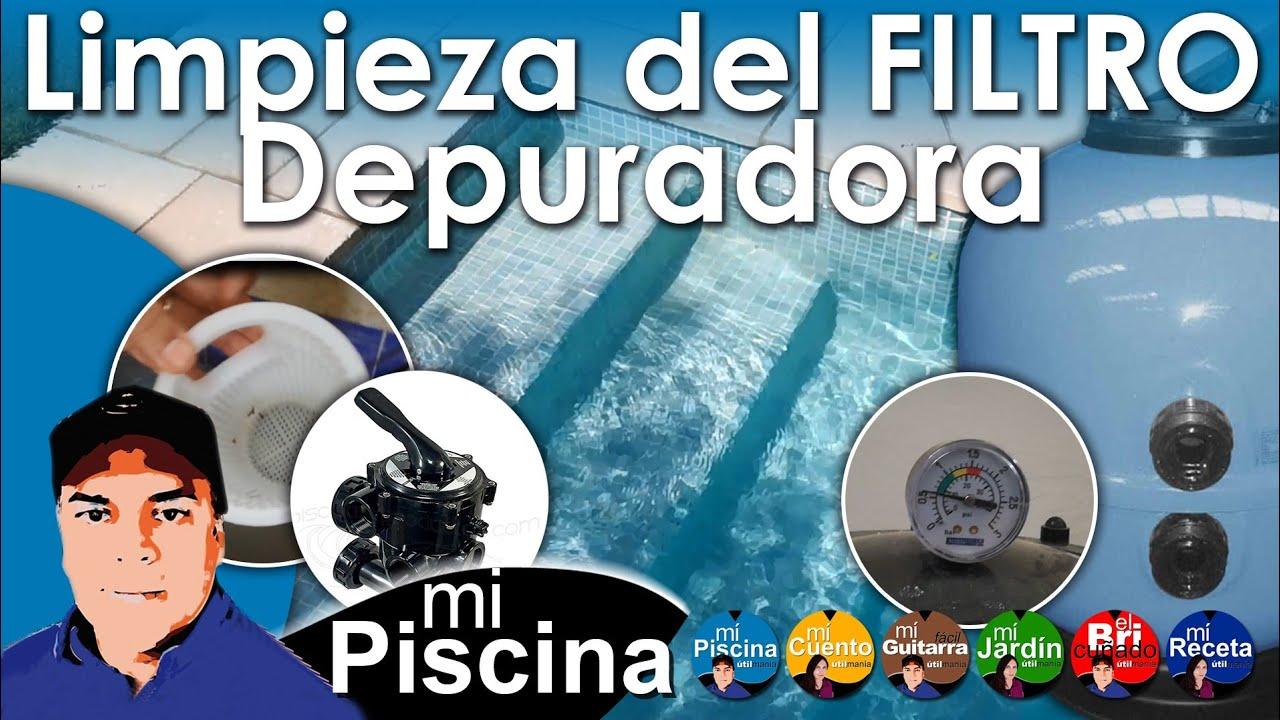 Como limpiar el filtro de la depuradora de una piscina for Limpiar filtro piscina