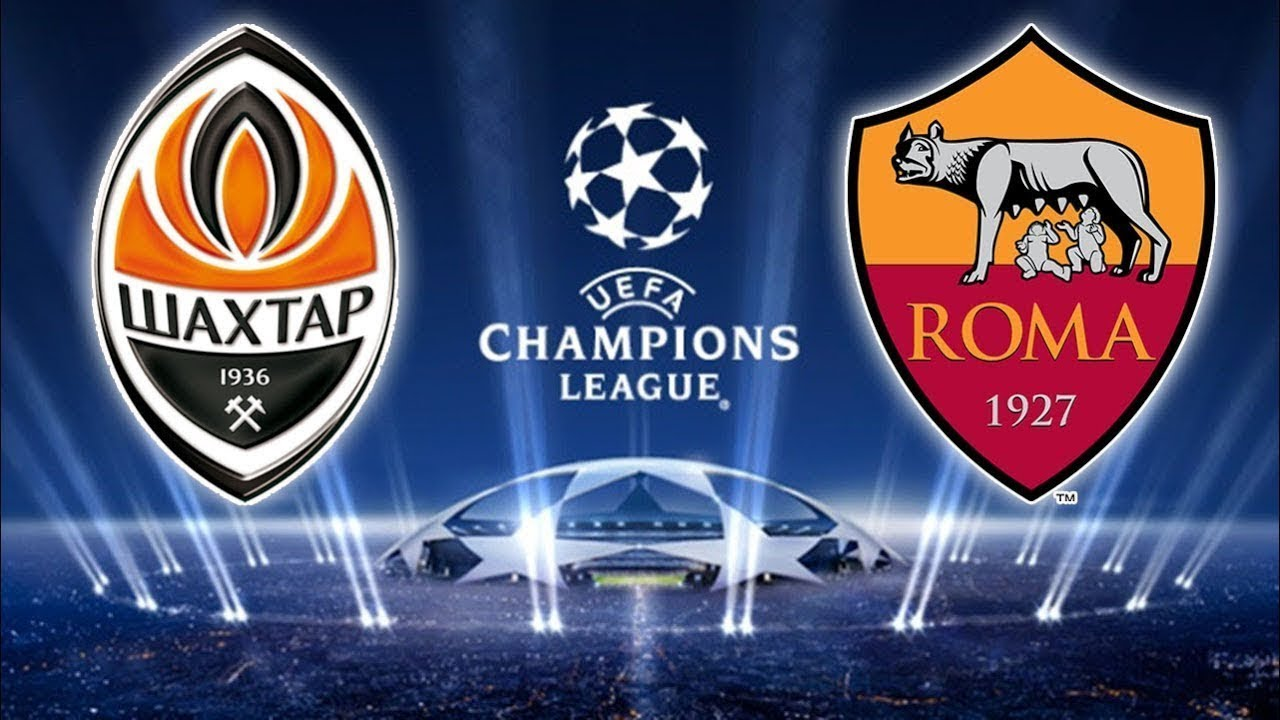 Shakhtar Donetsk Vs As Roma Ucl  Round Liveeee