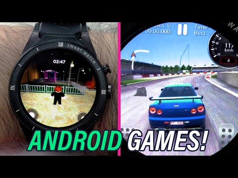 Can I play Android games on a watch? Temple Run 2, Roblox & more!
