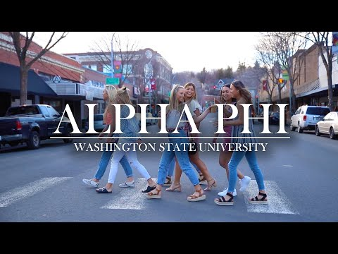 Alpha Phi // Washington State University Recruitment Video 2019