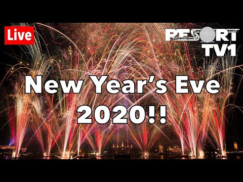 🔴Live: New Year's Eve Fireworks At Walt Disney World - Epcot 2020 - Live Stream