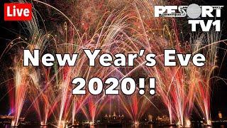 🔴Live: New Year's Eve Fireworks at Walt Disney World - Epcot 2020 - Live Stream