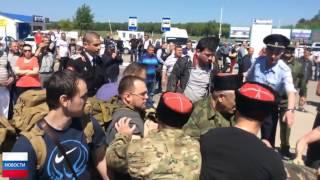 Как Навального отправили в нокдаун казаки в Анапе! Эксклюзив 18+!