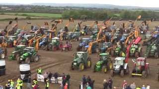 Guinness World Record All Ireland Hedgecutting Championships 2013