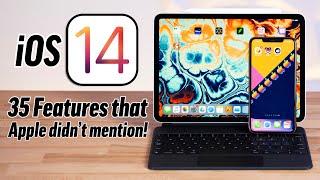 35 Hidden iOS 14 & iPadOS 14 Features: You had NO idea..