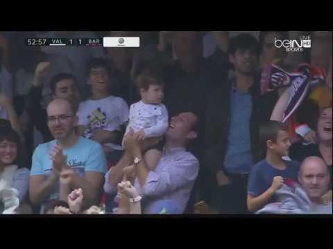 Download Valencia vs Barcelona 2 3 All Goals & Highlights 22 10 2016 HD   YouTube 480p