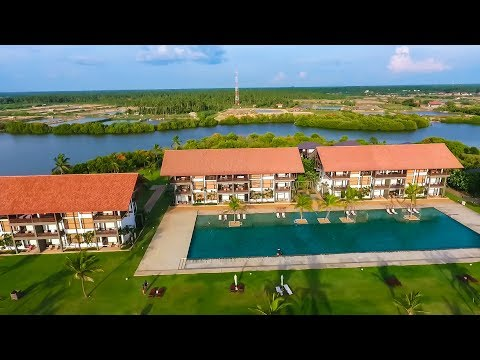 Drone View  of Ananthaya Resort and Spa Chilaw Srilanka
