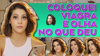 TOMEI VIAGRA NA ZOEIRA | Dora Figueiredo