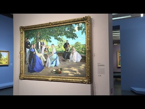 French Impressionist Frédéric Bazille Exhibited In Paris