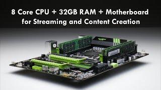 KLLISRE X79P LGA 2011 Motherboard, 8 Core CPU and 32 GB RAM Bundle