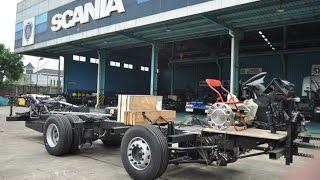 Bismania wajib tau proses perakitan chassis bus terbaru