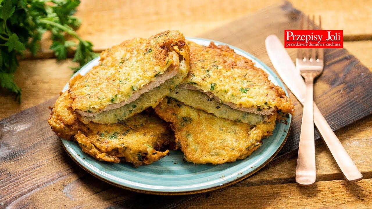 Kotlety Schabowe W Ziemniakach Przepis Na Obiad Youtube