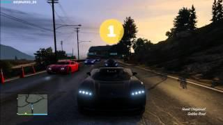 GTA 5 ONLINE | EP.11 | LaDelPartner Crew - Carreras Sanas | DjMaRiiO