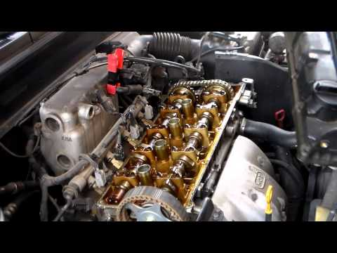 2003 Hyundai Valve Cover Gasket Replacement