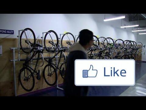 Op bezoek bij Facebook in Silicon Valley (uit Bright TV)