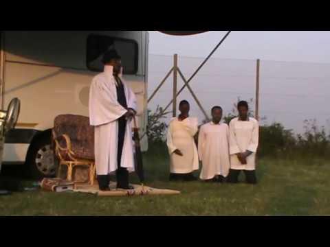Shembe: INkosi Unyazi Lwezulu sermon at University Of KwaZulu-Natal(Westville)
