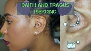 My New Piercings | Daith and Tragus Piercing