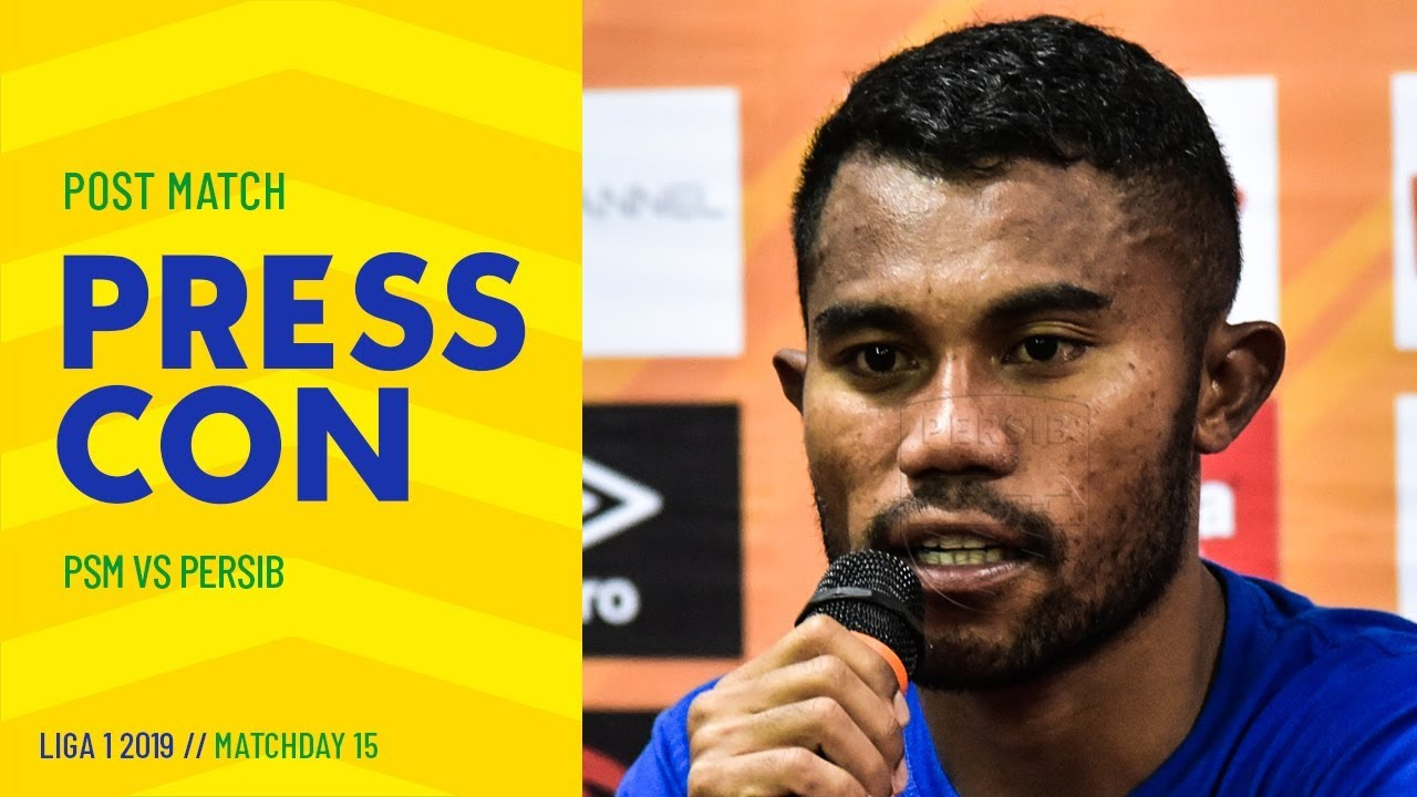 Video: Post-match Press Conference Pekan 15 LIGA 1 2019 PSM 3-1 PERSIB 7
