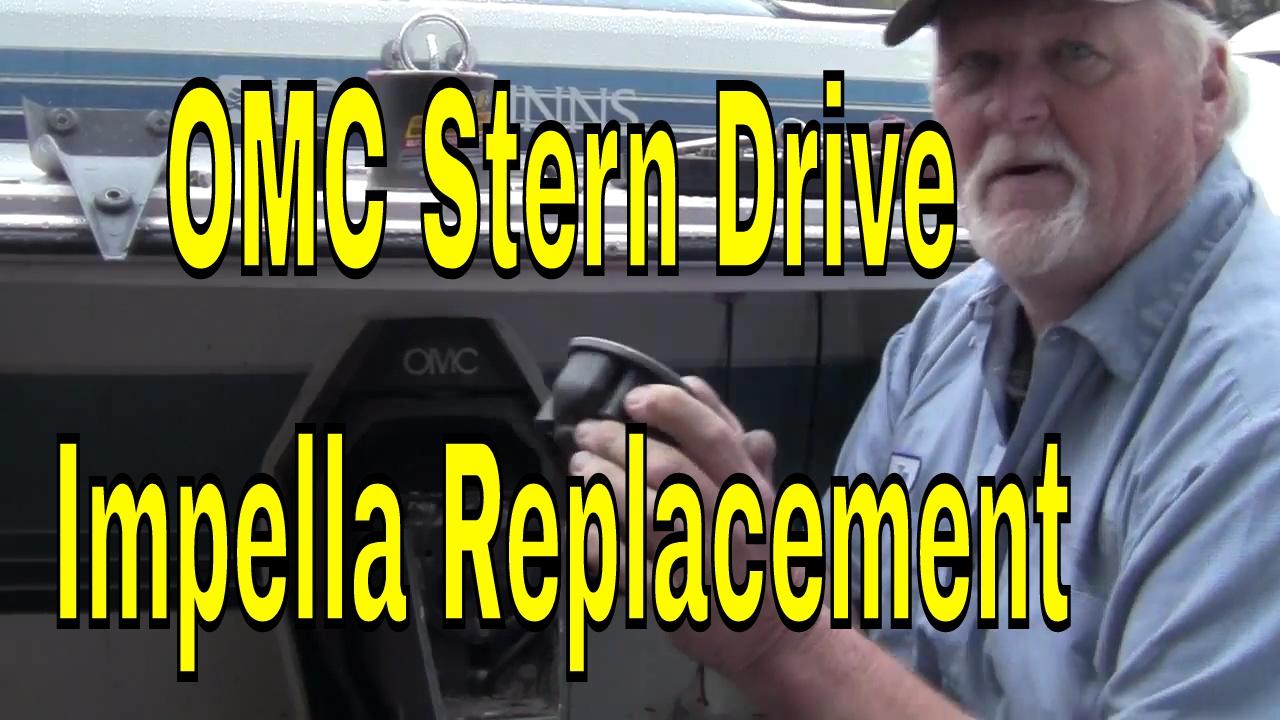 Omc Cobra How To Change A Water Pump Impeller In 1989 305 Inboard Wiring Diagram Sterndrive Repair Stern Drive