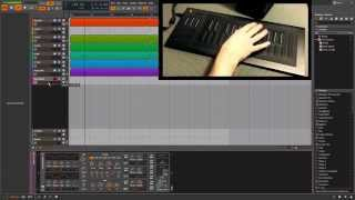 Seaboard Rise vs Bitwig   Deep House Composition Session