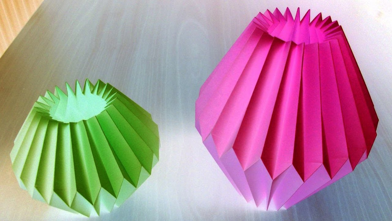 Home decor paper crafts for light bulb by srujanatv youtube Home decor crafts with paper