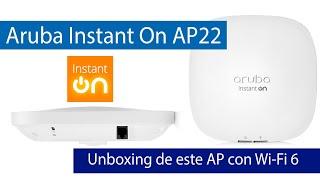 Aruba Instant On AP22: Análisis de este AP con Wi-Fi 6 y gestión Cloud