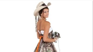 Hunting Camo Wedding Dresses