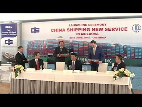 Moldova: la Cina investe nel porto di Giurgiulesti - economy