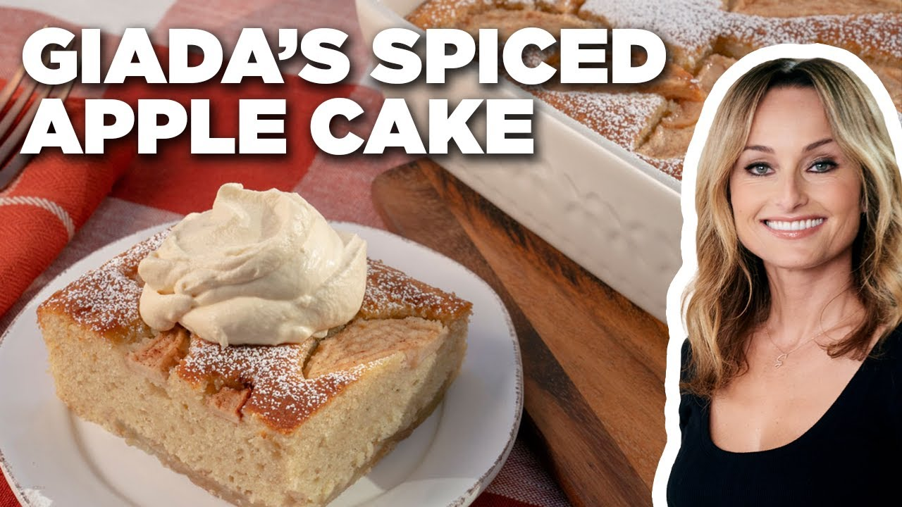Download Giada De Laurentiis' Spiced Apple Cake   Giada's Holiday Handbook   Food Network