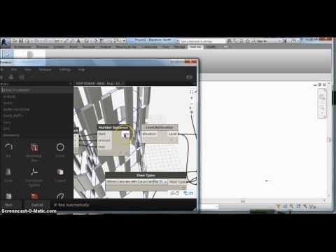 Creating randomized facade patterns - Dynamo for Revit